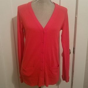 Kate Spade Red Cardigan Sweater